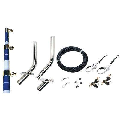Seachoice 88251 COMPLETE OUTRIGGER KIT/OUTRIG.KIT-15ftWHT/BLU-