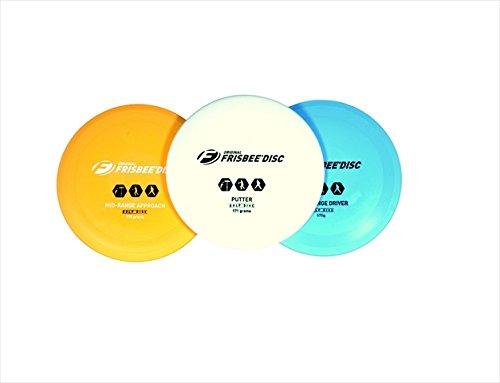 Wham-O 025122 Frisbee 3-Disc Golf Set by Wham-O