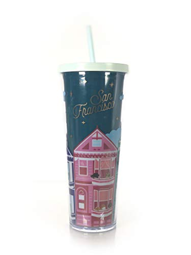 Starbucks San Francisco Cold Cup Tumbler Traveler Venti 24oz