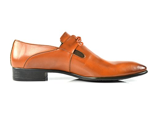 CAPRIUM Business Schnürhalbschuhe, Moderne Schuhe, Schnürer Herren 0000193 Braun