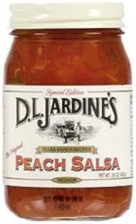 product image for Jardines Peach Medium Salsa (Economy Case Pack) 16 Oz Jar (Pack of 6)