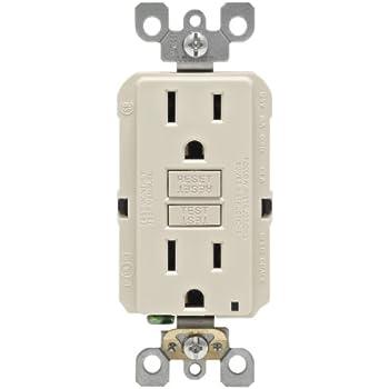Topele 15 Amp Gfci Outlet 125 Volt Tamper Resistant Receptacle