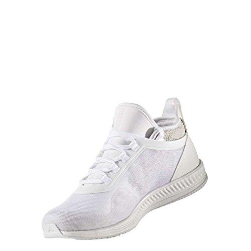 adidas Gymbreaker 2 W, Chaussures de Fitness Femme multicolore - blanc/gris (Ftwbla/Ftwbla/Griuno)