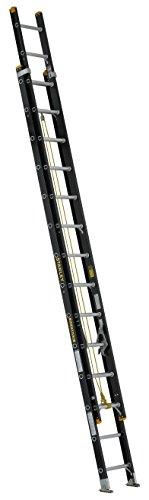 Stanley FatMax SXL3020-28 Fiberglass Extension Ladder 28-Foot 300-Pound Load - Ladders Fiberglass 28 Feet