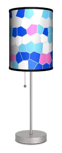 Lamp-In-A-Box SPS-DEC-SUMGL Decor Art Summer Glass Sport Lamp, 20