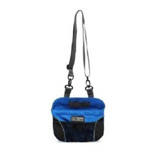 Kyjen 2534 Quick Access Treat Treat Treat Bag Treat Pouch Training Bag with adjustable Shoulder Strap, ampio, blu by Kyjen (English Manual) 0863a5
