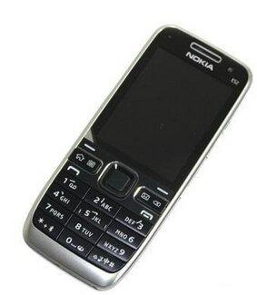 Nokia E52 Black Business SmartPhone Unlocked Import--International Version with NoU.S. Warranty (Black)