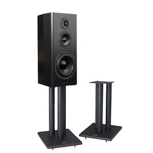 Pangea Audio LS300 Speaker Stand - Pair (20 Inch) by Pangea Audio