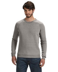 - Alternative mens Champ Eco-Fleece Sweatshirt Large Eco Grey