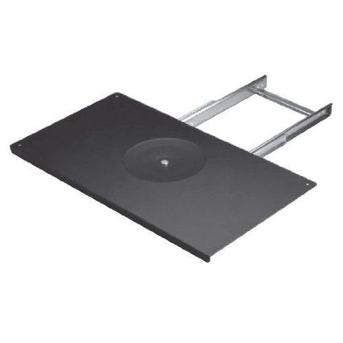 Hafele TV Swivel Full Extension, Steel Black