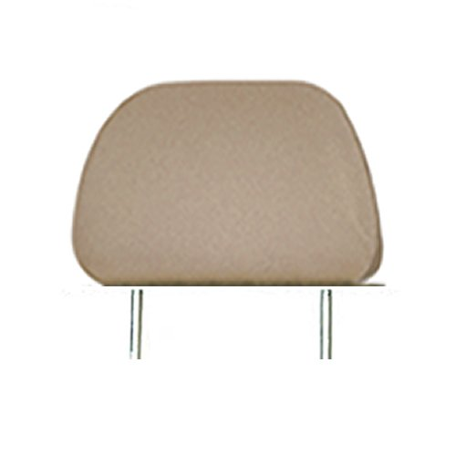 Headrest Covers For Cars (Pu Synthetic Leather Car Truck Seat Headrest Cover 1pc Beige)
