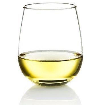Poolside Shatterproof Unbreakable Stemless Wine Glass ~ Sophisticated Durable Reusable Design ~ Dishwasher Safe ~ Made of 100% Eastman USA Tritan ~ 16 oz …