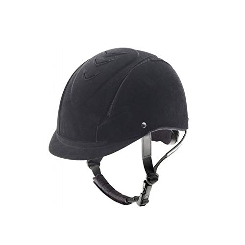 (Ovation Women's Competitor Riding Helmet, Black, Small/Medium)