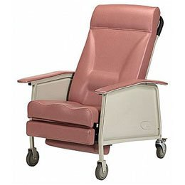 Invacare Three-Position Recliner Deluxe Wide Recliner - Jade