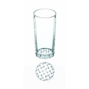 Nachtmann Dancing Stars Bossa Nova Crystal Highball Glasses, Set of 2