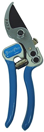 - Tierra Garden 38-1713 Pro Bypass Pruner with Drop Forged Aluminum Handle and PVC Grips, 7-1/2