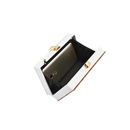 Soirée à Acrylique Mini Bandoulière De Sac épaule Mode WenL Sac RCwnTqEC7