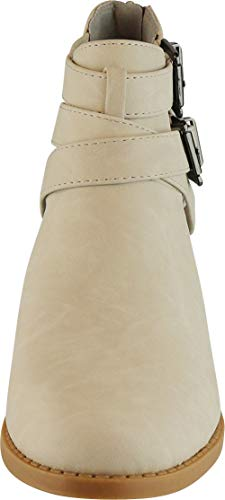 Pictures of Cambridge Select Women's Side Cut Out Light Taupe Nbpu 2