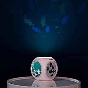 bblüv – Kübe – Sound Activated Musical Night Light with Projection