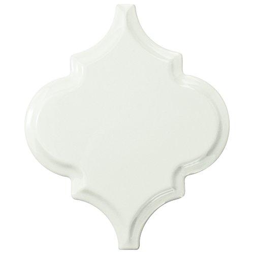 SomerTile WDXBGLGW Farol Beveled Grand Lantern Ceramic Wall Tile, 5.5