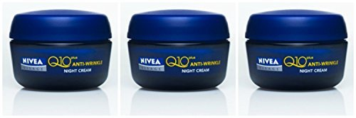 Nivea Visage Q10 Plus Anti Wrinkle Night Care 50 ML (Pack 3)