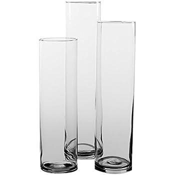 Eastland Tall Cylinder Vases Set of 3
