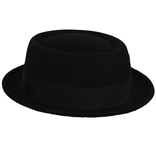 Bailey of Hollywood Mens Novo Telescopic Crwn Pork Pie Hat