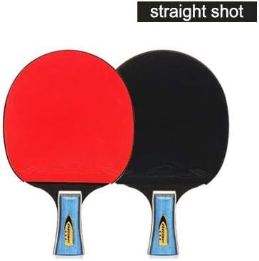 Juego de raquetas de tenis de mesa PEFCVR de 6 estrellas para principiantes