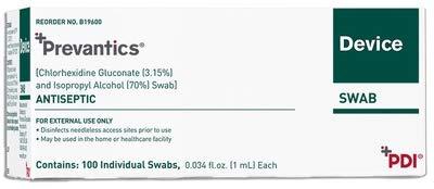 19602310 Device Swab Prevantics