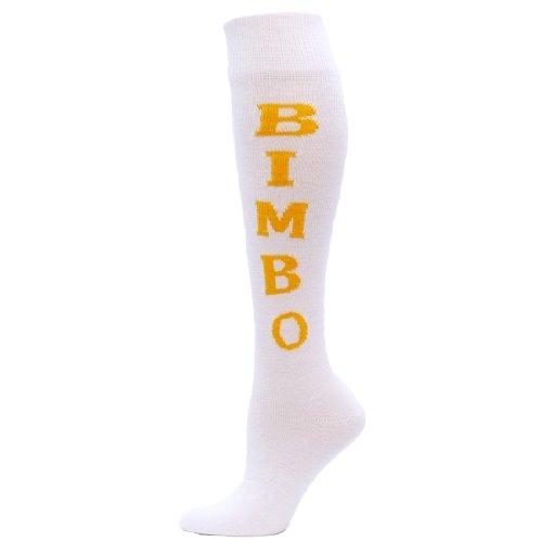 red-lion-bimbo-urban-word-sock-white-gold-medium-