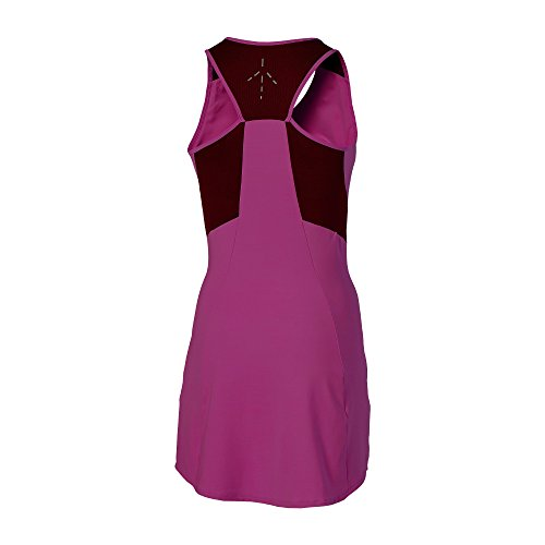 Stosur Dress Samantha Oberbekleidung Asics Dunkelrot Women Damen Athlete EqSgnWfzw