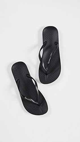 Black Ana Ipanema Tan Women's Black Sandal Thong BA6Axzw