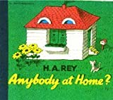 img - for Anybody at Home (Pb) (Lift-the-Flap Series) by H. A. Rey (1988-11-01) book / textbook / text book