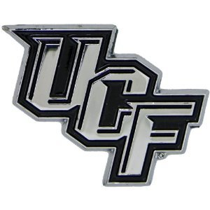 University of Central Florida Knights UCF Metal Auto Emblem (Knights Ucf Decal)