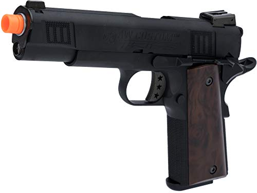 - Evike AW Custom NE30 Tribe Series 1911 GBB Airsoft Pistol (Color: Black)