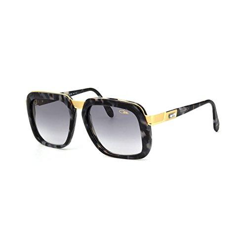 Cazal 616/3 Sunglasses 616 Legend Black Marble Gold (090) Authentic - 616 Sunglasses Cazal