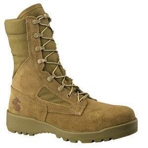 steel toe army boots - 7