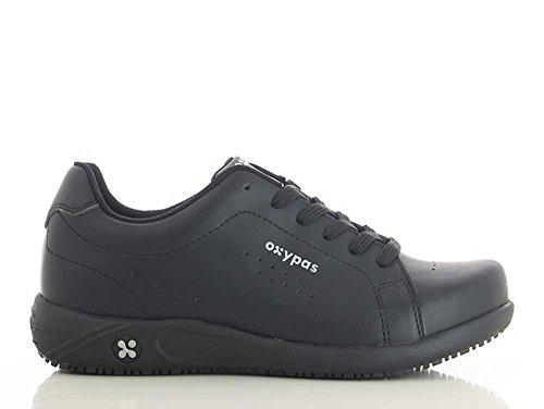 ciclismo Oxypas de Zapatillas para mujer Piel negro de RqW1aZ6
