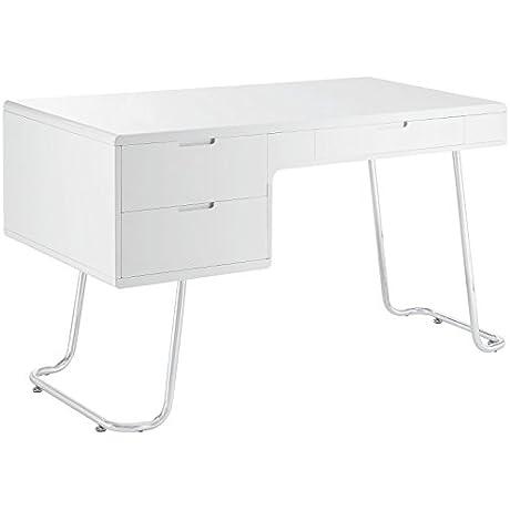 Modway Swing Office Desk White