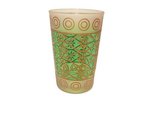 vasos orientales de menta vaso de te Marruecos decoracion arabe 6 cm x 10 cm -905087-0239