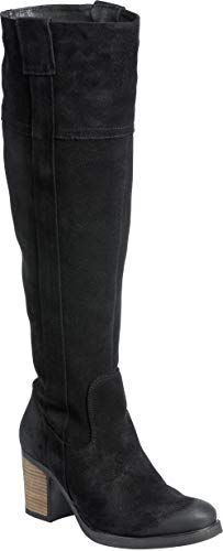 - Women's Bos & Co Horton Waterproof Suede Boots Black