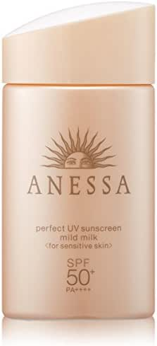 ANESSA perfect UV sunscreen mild milk SPF50+/PA++++ 60mL / 2oz