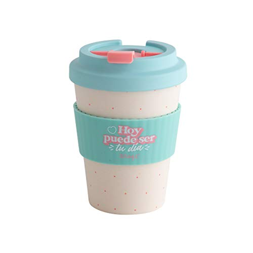 Mr Wonderful WOA10645ES Taza take away, Bambu