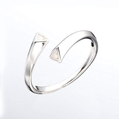 7ccbe9cc0 White gold diamond ring by Majade. Diamond wedding band, Diamond engagement  ring for women, White gold wedding band. Handmade solid 14k gold two stone  ring.
