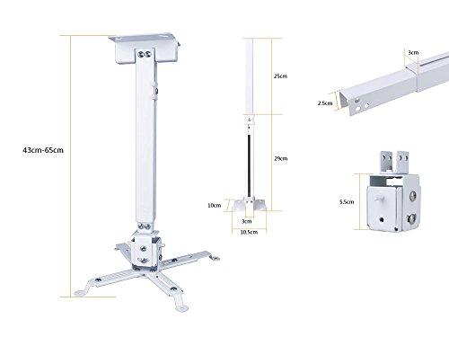 Universal Projector Ceiling Wall Mount Bracket LCD DLP Tilt