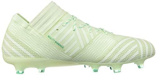 adidas Mens Nemeziz 17.1 Firm Ground Soccer Cleats - Green - Size 11.5 D 6