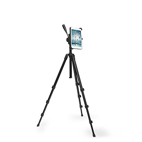 Universal Tablet Mount and Pan Head Tripod and Case ()