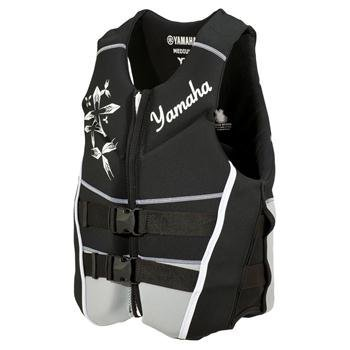 OEM Women's Yamaha Neoprene 2-Buckle Life Jacket Vest PFD Black XX-Large
