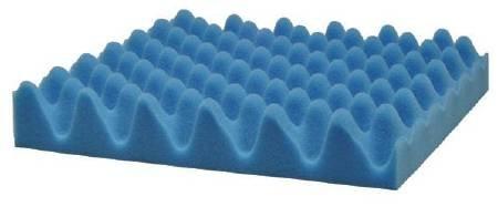 Sammons Preston Seat Cushion 8 X 16 X 1-1/2 Inch Convoluted Foam