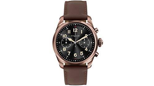 Montblanc Summit 2 Chronograph Quartz Black Dial Men's Smart Watch 126479